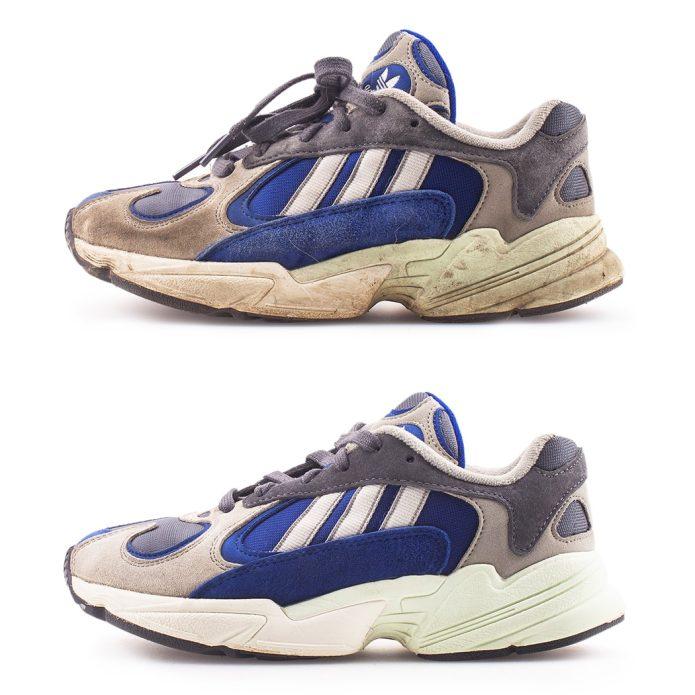 Химчистка кроссовок adidas