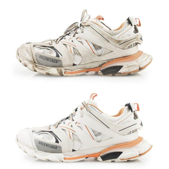 химчистка кроссовок balenciaga чистка обуви