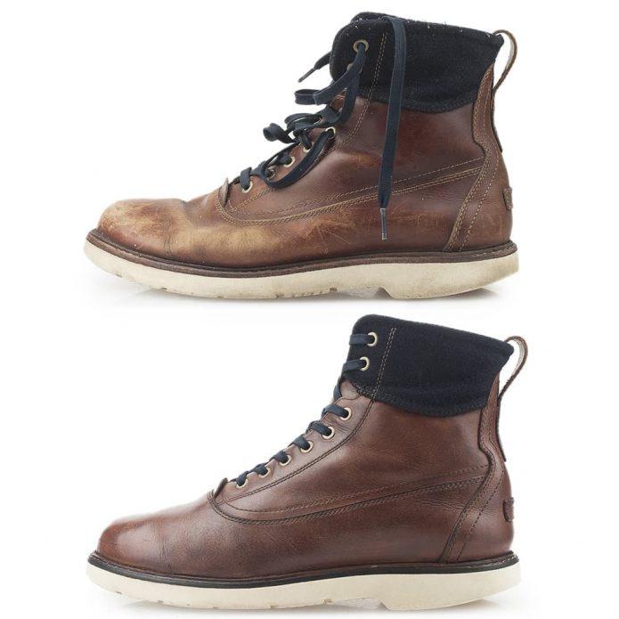 химчистка Timberland, восстановление Timberland ботинок