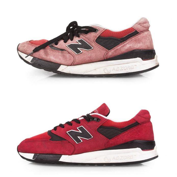 химчистка кроссовок new balance чистка обуви