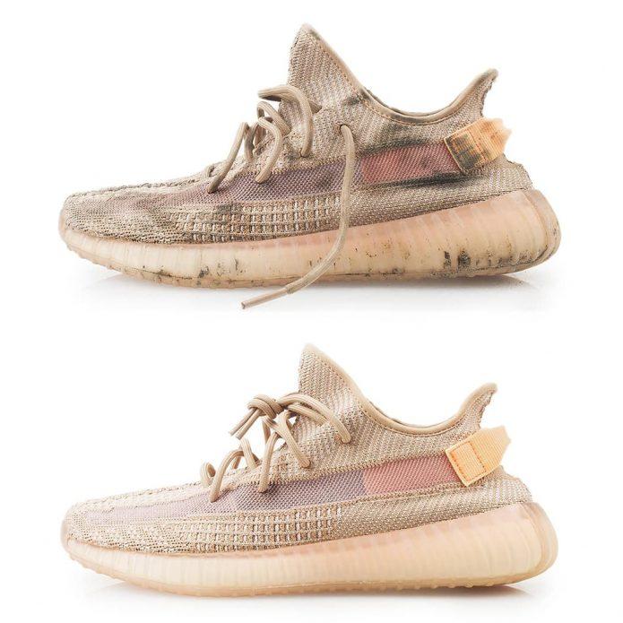 химчистка кроссовок adidas yeezy