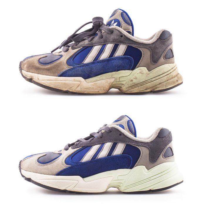 химчистка кроссовок adidas чистка обуви