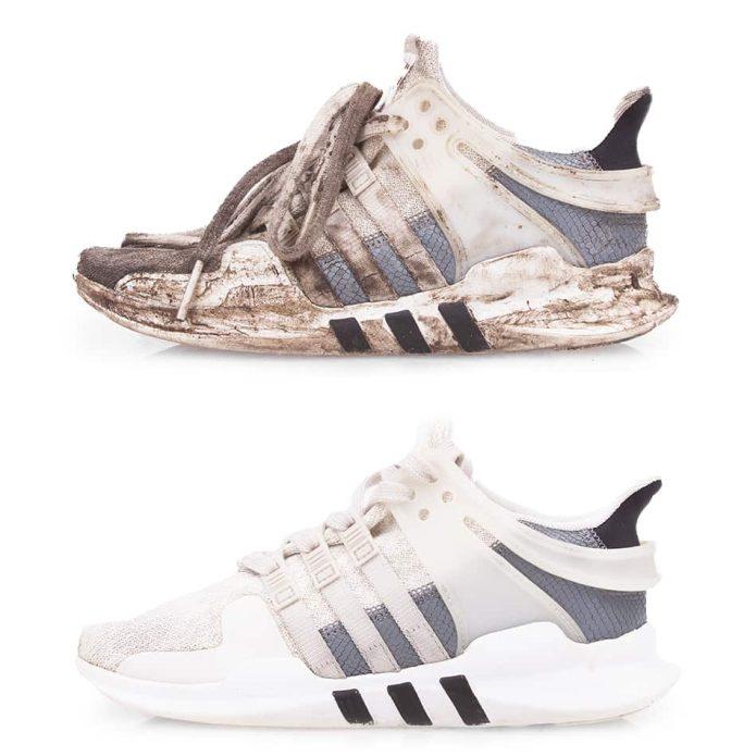 Химчистка_кроссовок_adidas_classic
